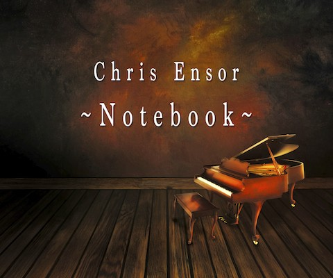Notebook by Chris Ensor